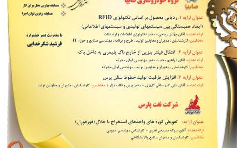 چهارمین وبینار ارایه تجربه های موفق یازدهمین جشنواره ملی بهره وری برگزار میشود